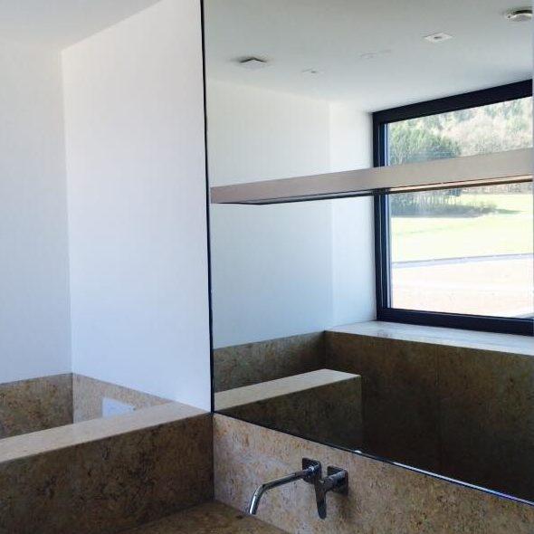 Spiegel Badezimmer A&K Glasbau