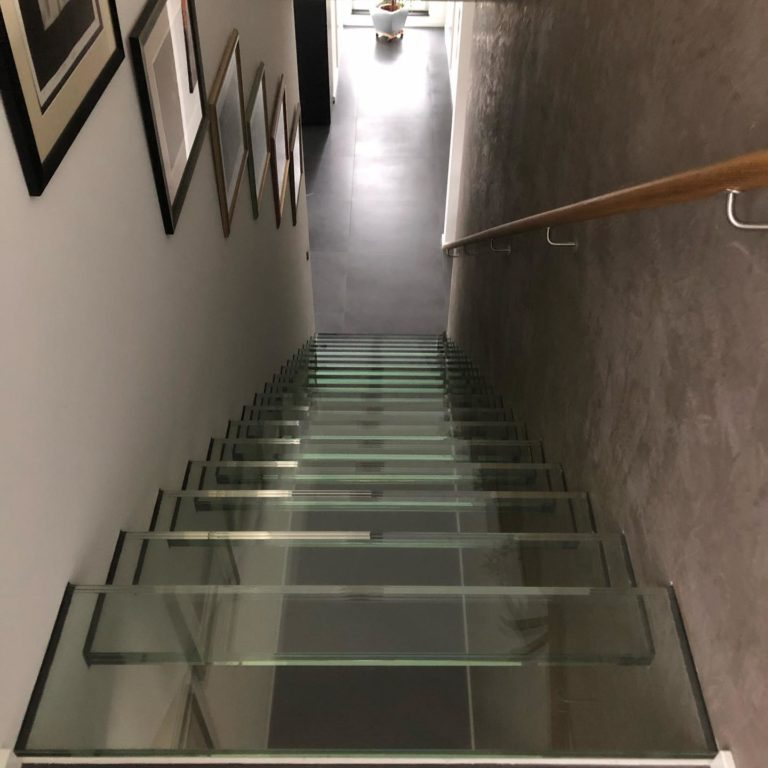 Glastreppe A&K Glasbau Frankfurt