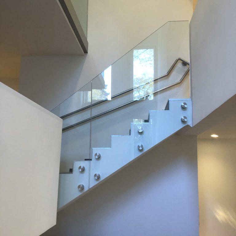 Glastreppe Neuverglasung A&K Glasbau